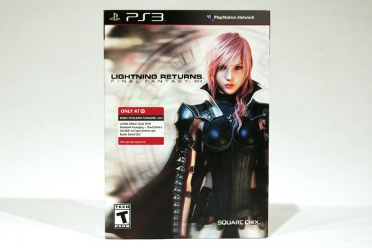 Lightning Returns Final Fantasy XIII Limited Edition Cloud Strife SteelBook (PS3)