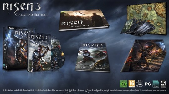 Risen 3 Collectors Edition