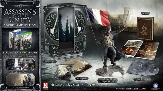 Assassin's Creed Unity Notre Dame Edition