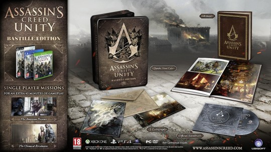 Assassin's Creed Unity The Bastille Edition