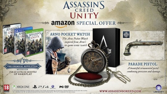 Assassin's Creed Unity (Amazon Pocket Watch Bundle)