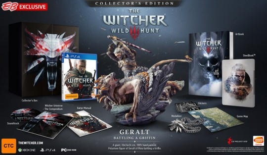 The Witcher 3 Wild Hunt Collector's Edition