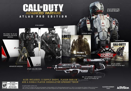 Call of Duty Advanced Warfare Atlas Limited Pro Edition
