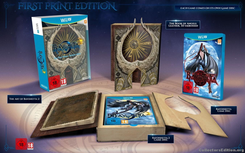 Bayonetta 2 first print edition for Edicion 3d online