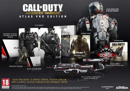 Call of Duty Advanced Warfare Atlas Pro Edition