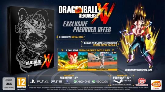 Dragonball Xenoverse Pre-Order