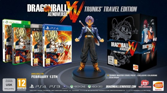Dragonball Xenoverse Trunk's Travel Edition