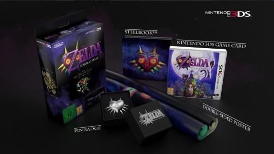 Zelda Majora's Mask 3D Special Edition