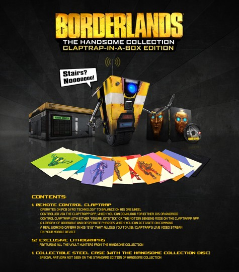Borderland The Hansom Collection Claptrap in a Box
