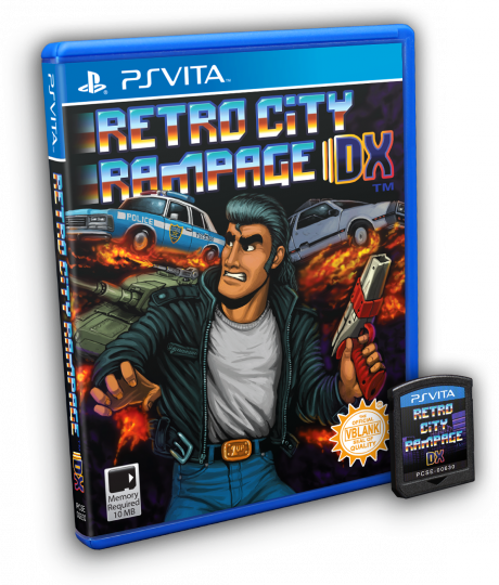 Retro City Rampage DX overview image.