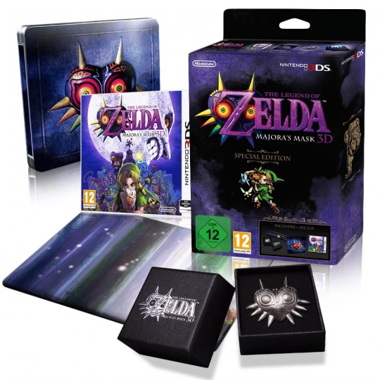 The legend of Zelda Majoras mask 3D special edition