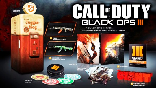 Call of Duty:Black Ops III Juggernog Edition