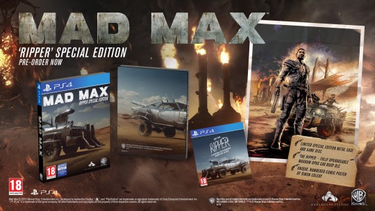CollectorsEdition org » Mad Max Ripper Special Edition (PS4) [Europe]