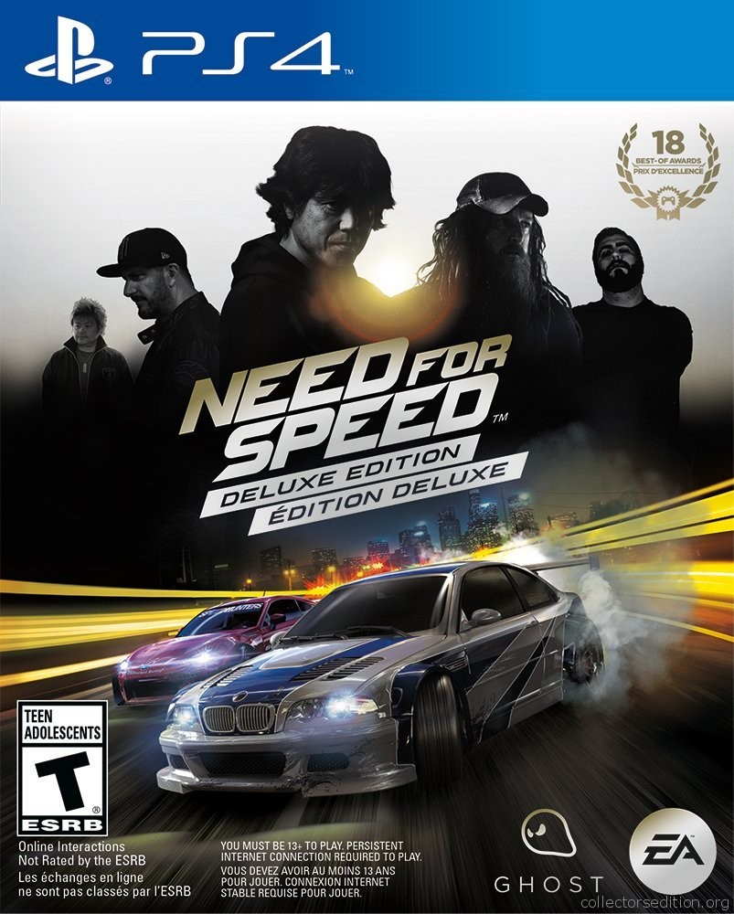 need for speed deluxe edition ps4. Black Bedroom Furniture Sets. Home Design Ideas