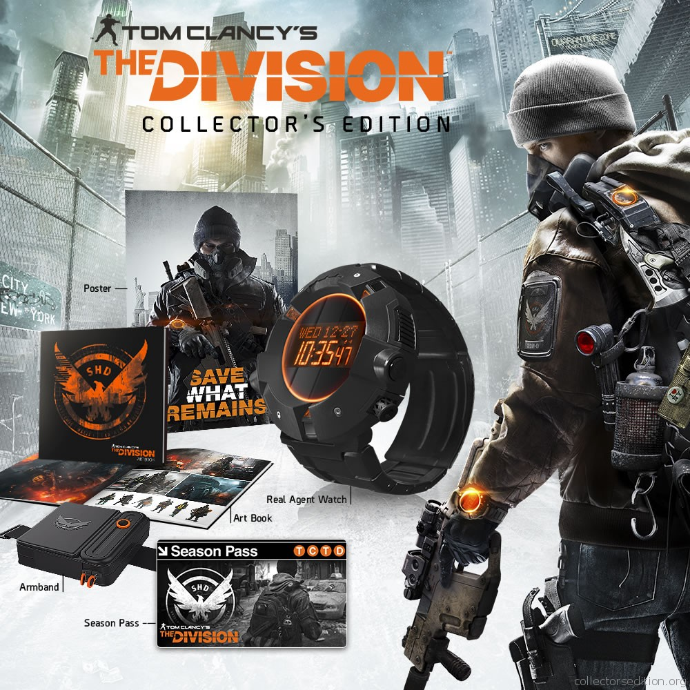 tom clancy s the division collector s edition ps4 americas. Black Bedroom Furniture Sets. Home Design Ideas