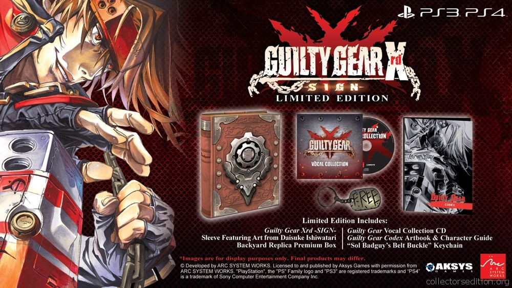 CollectorsEdition org » Guilty Gear Xrd SIGN Limited Edition