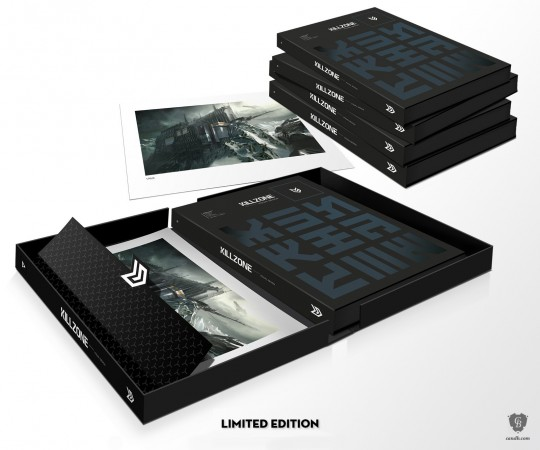 limited edition killzone concept art book 15 year anniversary