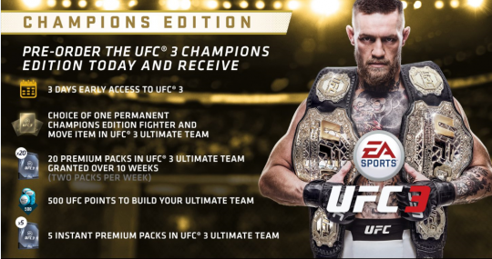 ufc 2018 game release date